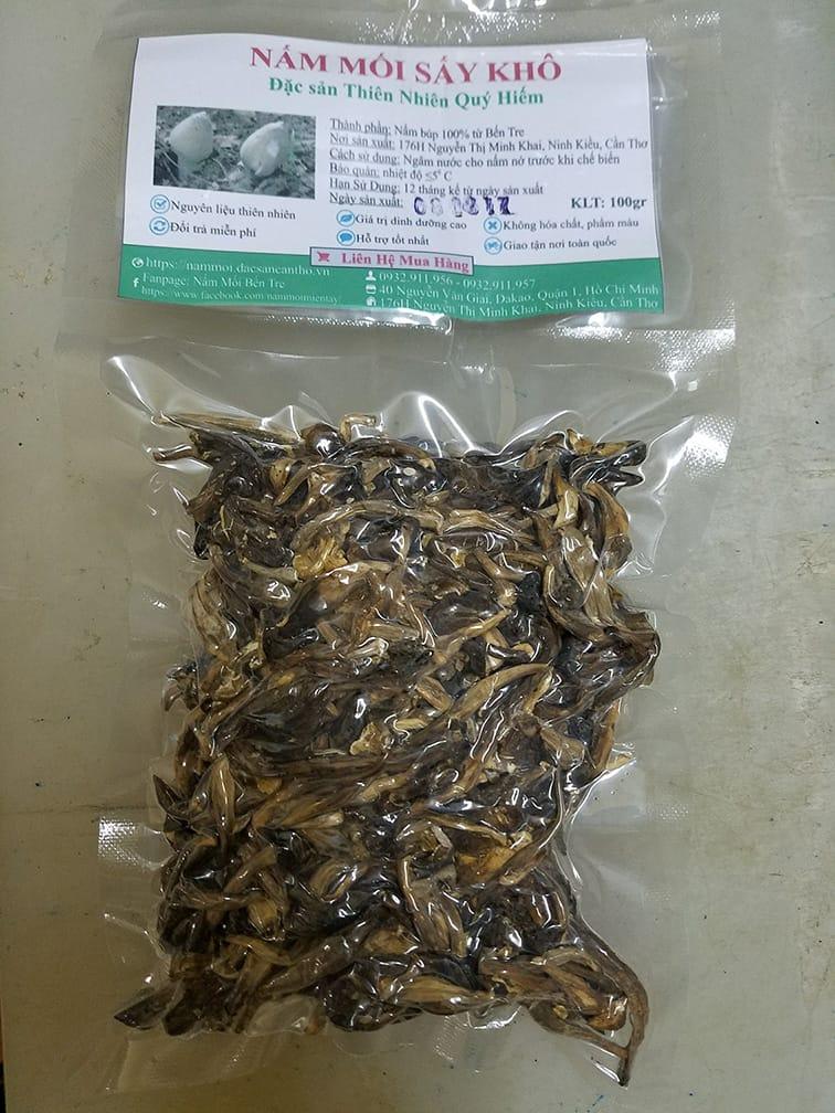 nấm mối sấy khô 100 gr